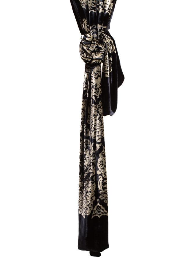 Silk Velvet Wrap - Versailles